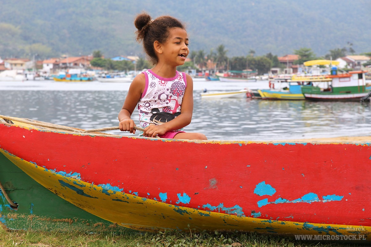Brazilian girl in Paraty