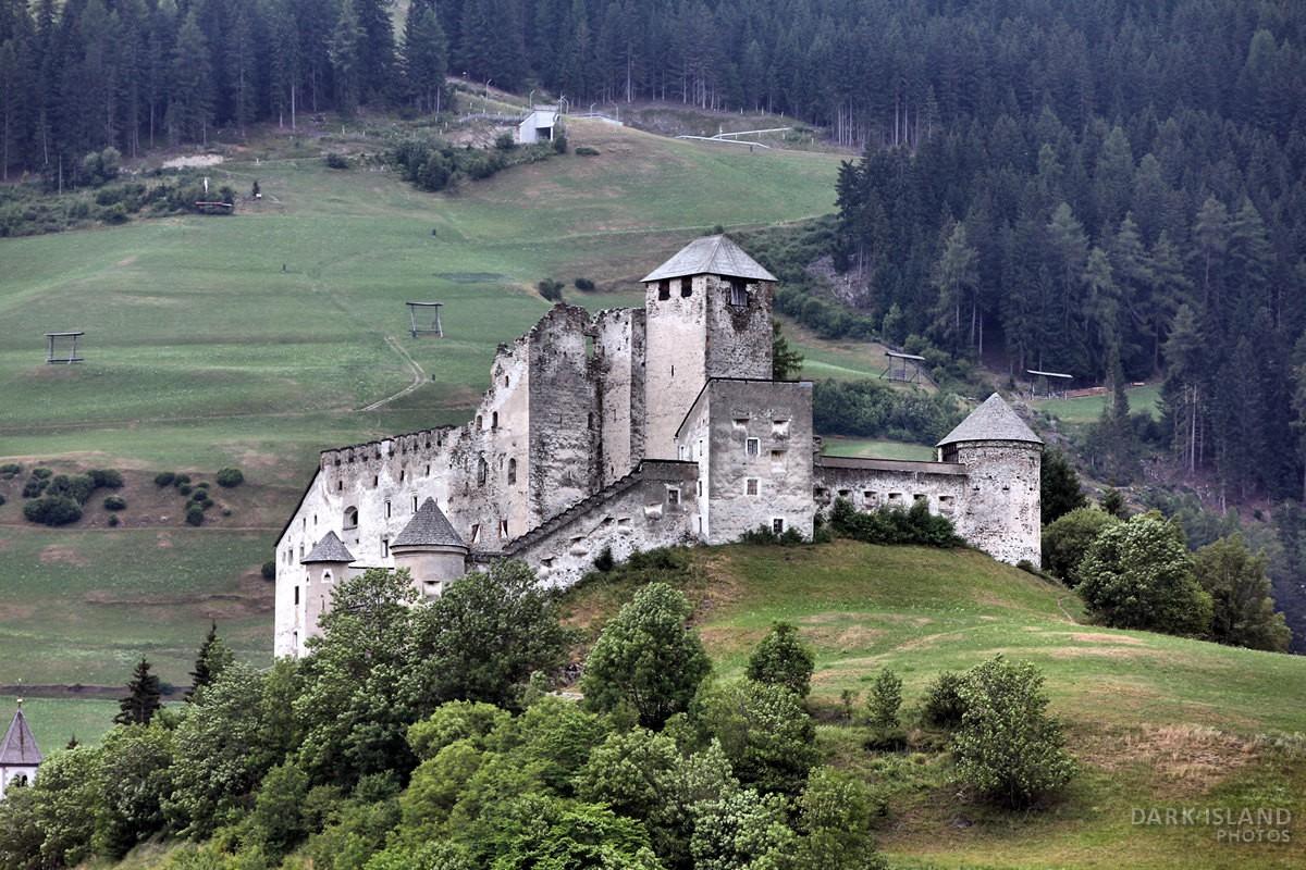 Heinfels Castle in Tyrol, Austria