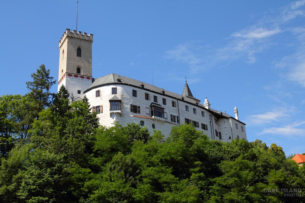 Rožmberk Castle in Czech Republic