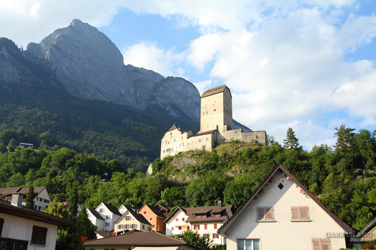 Sargans Castle in Switzerland