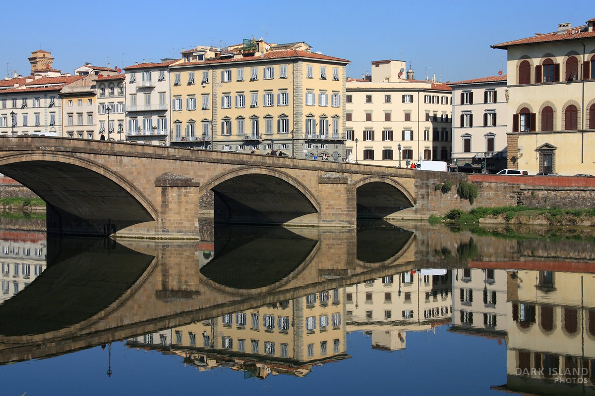 Arno River view in Florence, Italy