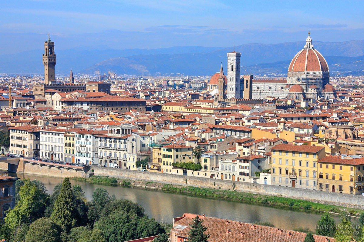 Florence in Tuscany, Italy