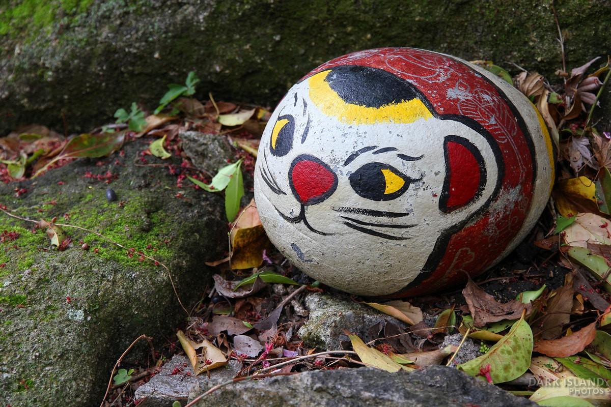 Onomichi stone cat, Japan