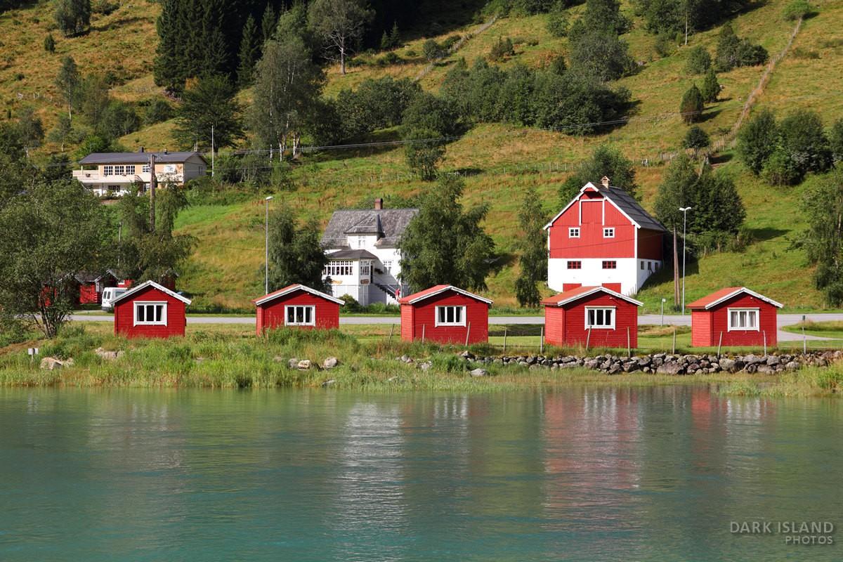 Olden – village on Nordfjord, Norway