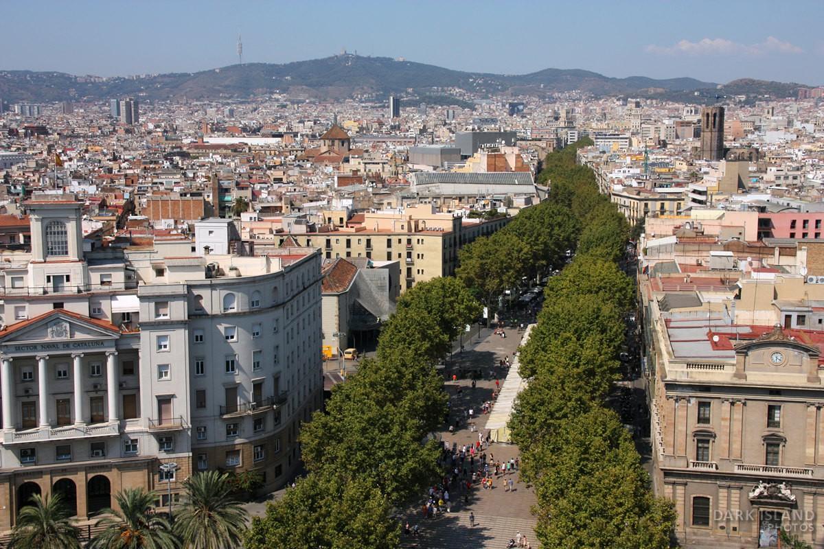 Rambla Avenue, Barcelona, Spain