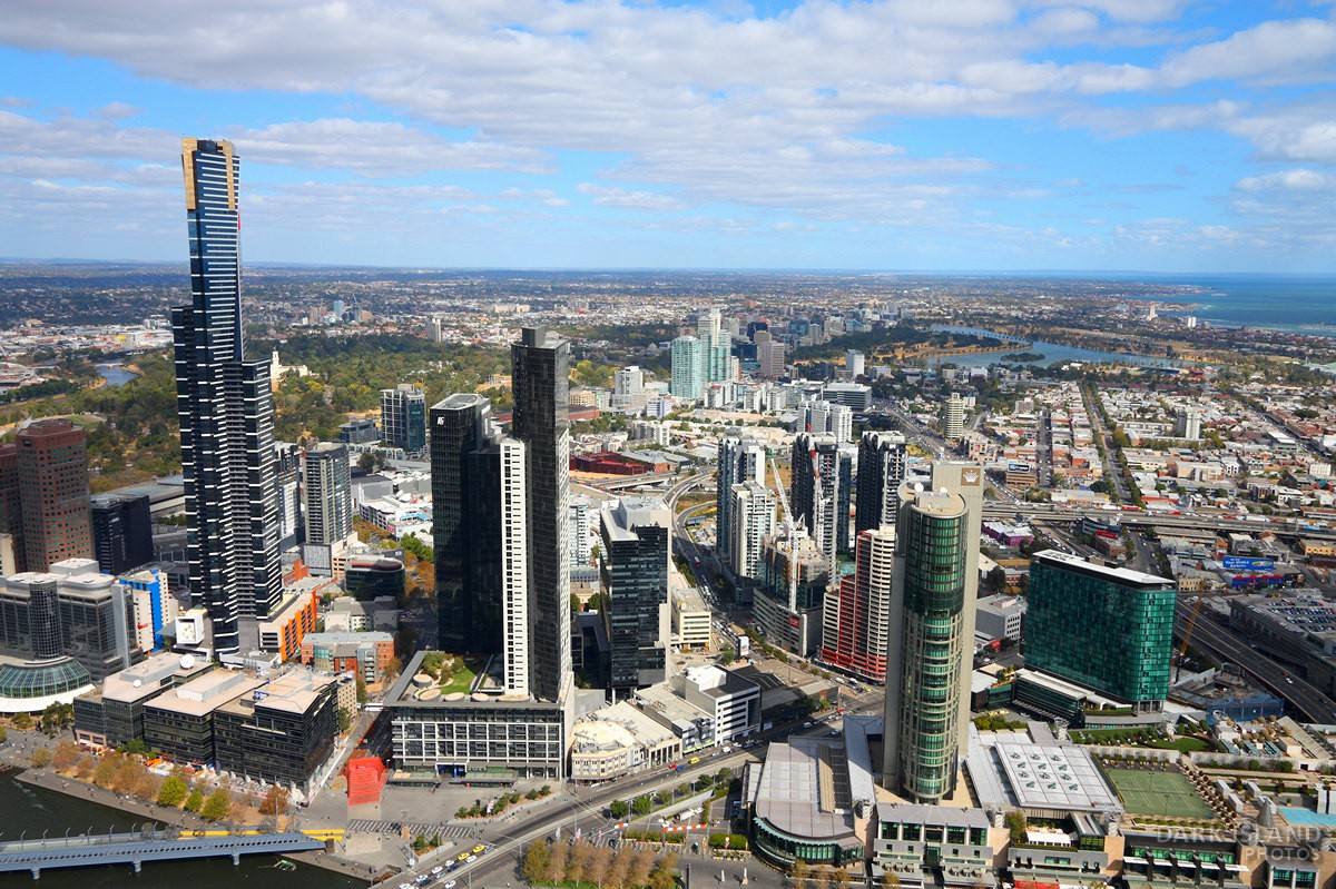 Skyline of Melbourne, Australia