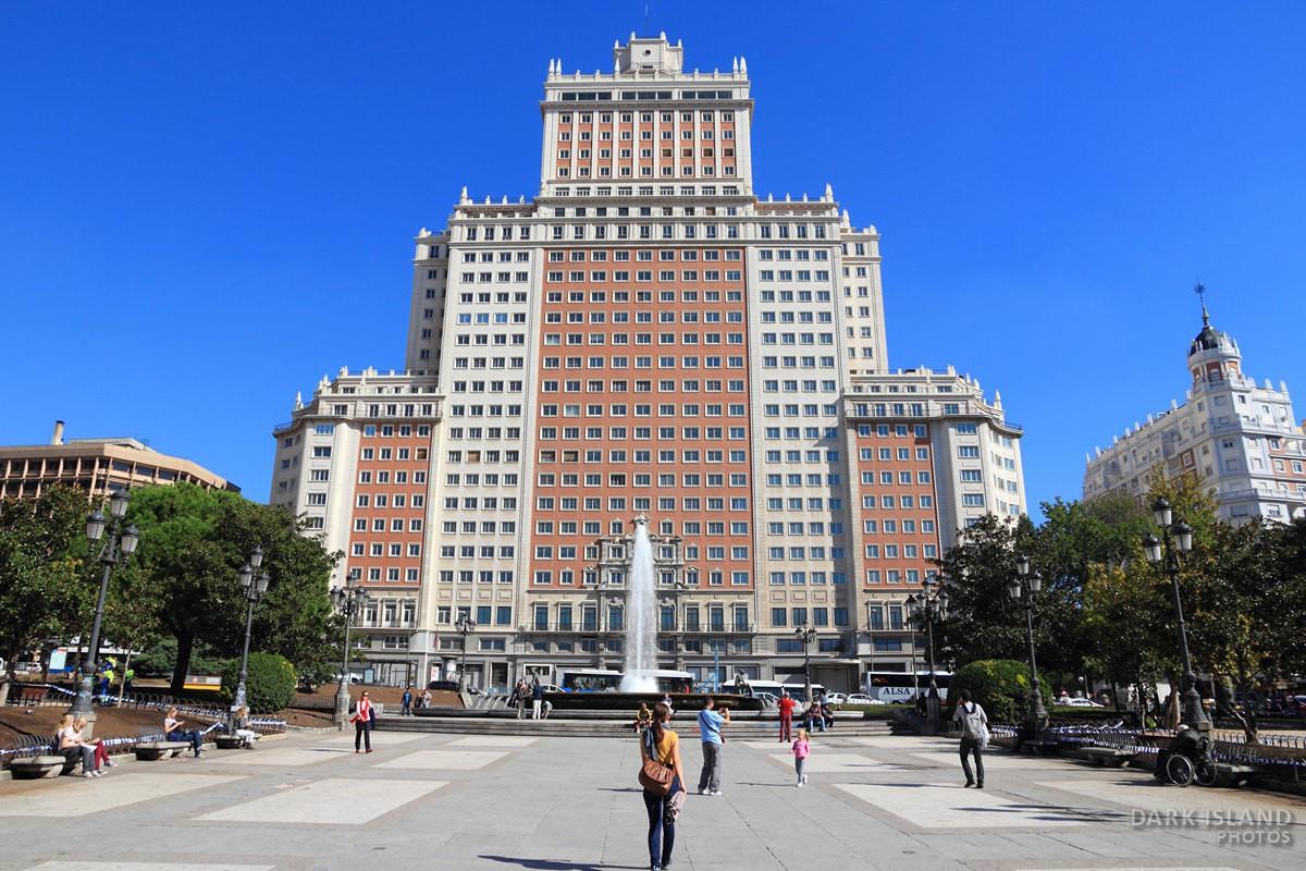 Plaza Espana, Madrid, Spain