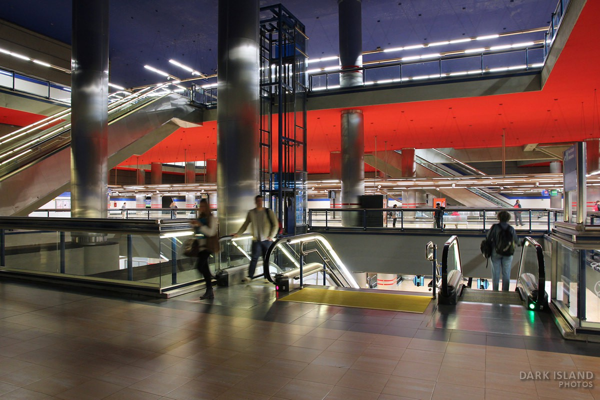 Madrid Chamartin Metro Station, Spain